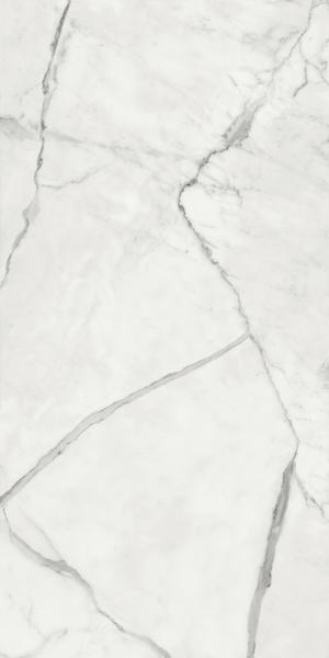 Ceramica Fondovalle Infinito 2.0 INF221_Infinito2.0MarbletechWhiteGlossy_60*120 , Séjour, Salle de bain, Cuisine, Espace public, Chambre à coucher, Effet effet pierre, style Style patchwork, style Style moderne, Grès cérame non-émaillé, revêtement mur et sol, Surface mate, Surface polie, Résistance au glissement R10, Bord rectifié, Grès cérame de faible épaisseur, Variation de nuances V2