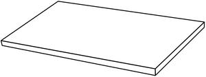 Ceramica Fondovalle Infinito 2.0 INF256_Infinito2.0GradinoAngolareMarbletechWhiteMa , Séjour, Salle de bain, Cuisine, Espace public, Chambre à coucher, Effet effet pierre, style Style patchwork, style Style moderne, Grès cérame non-émaillé, revêtement mur et sol, Surface mate, Surface polie, Résistance au glissement R10, Bord rectifié, Grès cérame de faible épaisseur, Variation de nuances V2