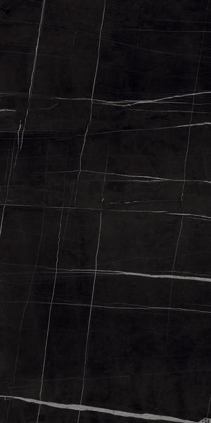 Ceramica Fondovalle Infinito 2.0 INF289_Infinito2.0SaharaNoirGlossy_120*240 , Séjour, Salle de bain, Cuisine, Espace public, Chambre à coucher, Effet effet pierre, style Style patchwork, style Style moderne, Grès cérame non-émaillé, revêtement mur et sol, Surface mate, Surface polie, Résistance au glissement R10, Bord rectifié, Grès cérame de faible épaisseur, Variation de nuances V2
