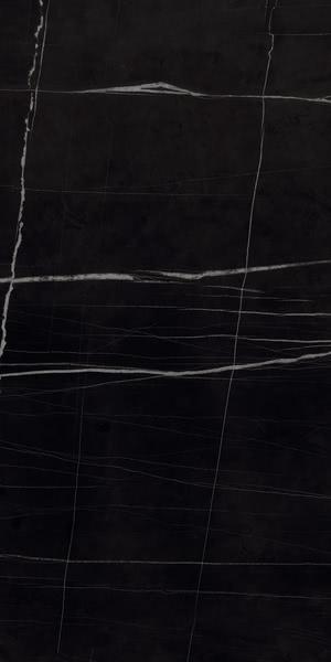 Ceramica Fondovalle Infinito 2.0 INF294_Sahara Noir Glossy_60*120 , Séjour, Salle de bain, Cuisine, Espace public, Chambre à coucher, Effet effet pierre, style Style patchwork, style Style moderne, Grès cérame non-émaillé, revêtement mur et sol, Surface mate, Surface polie, Résistance au glissement R10, Bord rectifié, Grès cérame de faible épaisseur, Variation de nuances V2