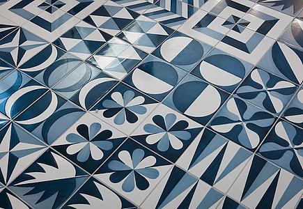 Piastrelle in maiolica blu ponti di francesco de maio tile expert