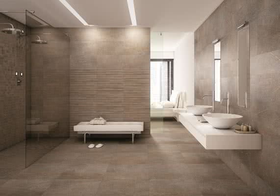 Afores Sandstone 1 Living Room Bathroom Stone Effect