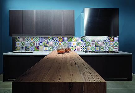 Piastrelle in maiolica macrame 24 vietri di giovanni de maio tile expert rivenditore di - Piastrelle cucina vietri ...