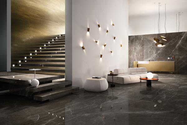 Graniti Fiandre Pietra Grey 1 Living Room