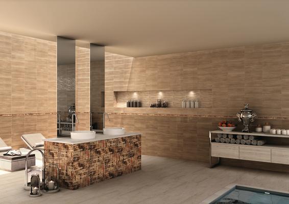 Piastrelle in ceramica wall wood di il cavallino. tile.expert