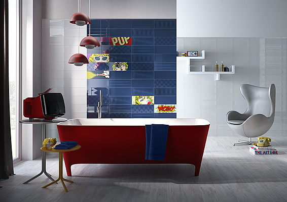 Arredamento Stile Pop Art : Piastrelle stile pop art top collezioni tile expert