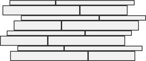 Impronta Italgraniti Stone Mix TX02MB_TravertinoCreamMuretto30X60 , Public spaces, Bathroom, Living room, Bedroom, Stone effect effect, Unglazed porcelain stoneware, wall & floor, Matte surface, Slip-resistance R11, Rectified edge, non-rectified edge, Shade variation V4, V2, V3