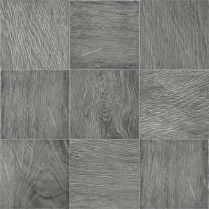 Imso Ceramiche Ecotimber E382MP-SR_ECOTIMBER MP382 EBONY S/R 10X10 , Kitchen, Bathroom, Wood effect effect, Glazed porcelain stoneware, wall & floor, Matte surface, non-rectified edge, Shade variation V4