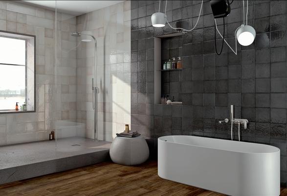 Maiolica ceramic tiles by iris tile expert distributor of italian tiles - Ambientazioni bagno ...