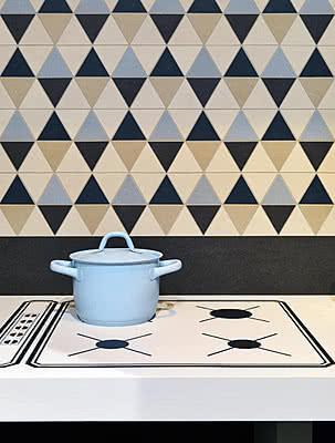 Piastrelle in gres porcellanato Slimtech Gouache 10 di Lea. Tile ...