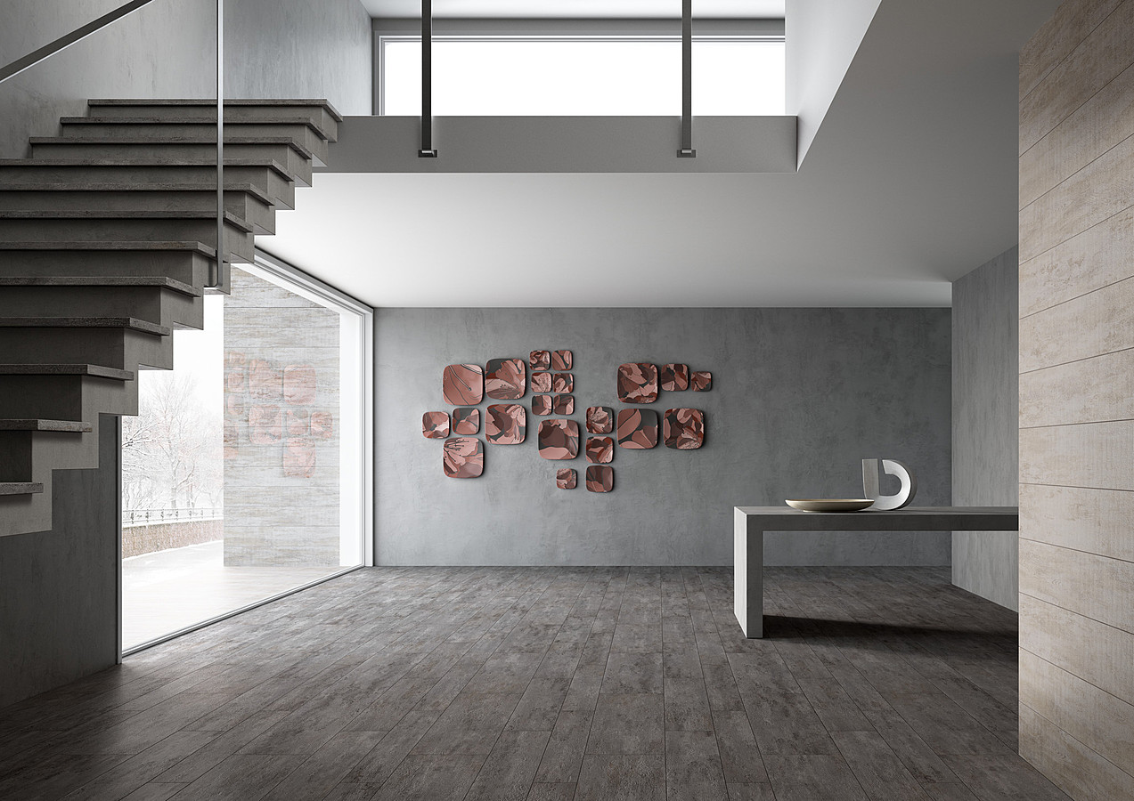 Plank by leonardo tile expert distributor of italian - Carrelage parquet gris ...