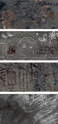 Leonardo Ceramica Word Up GraffitiGrMix , Bedroom, Bathroom, Living room, Concrete effect effect, Brick effect effect, Loft style style, Unglazed porcelain stoneware, wall & floor, Semi-polished surface, Matte surface, Rectified edge, non-rectified edge
