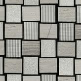 Linea Italia Le Acque Forti STAFWH/2328_EngravedStoneInWoodenWhite_23*28*10Mm , Salle de bain, Pierre naturelle, revêtement mural, Surface mate, bord non rectifié
