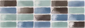 Love Ceramic Tiles Aroma 664.0114.001_Salty_20*60 , Salle de bain, Cuisine, Céramique, revêtement mural, Surface brillante, Bord rectifié, bord non rectifié, Effet effet tissu (papier de tenture)