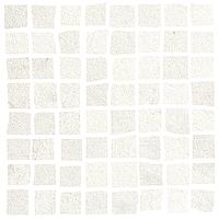 Love Ceramic Tiles Core 663.0098.001_MosaicCoreWhite_17,4*17,4 , Bathroom, Public spaces, Living room, Kitchen, Concrete effect effect, Ceramic Tile, wall, Matte surface, Rectified edge, non-rectified edge
