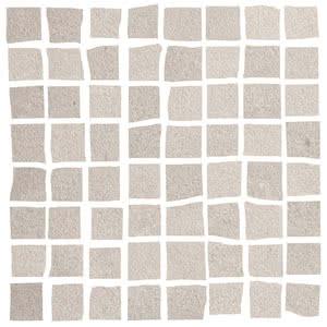 Love Ceramic Tiles Core 663.0098.037_MosaicCoreTortora_17,4*17,4 , Bathroom, Public spaces, Living room, Kitchen, Concrete effect effect, Ceramic Tile, wall, Matte surface, Rectified edge, non-rectified edge