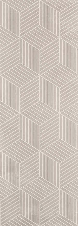 Love Ceramic Tiles Core 664.0133.037_DazzleTortoraRet_35*100 , Bathroom, Public spaces, Living room, Kitchen, Concrete effect effect, Ceramic Tile, wall, Matte surface, Rectified edge, non-rectified edge