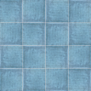 Mainzu Ceramica Calabria CALABRIA CIELO 15x15 , Living room, Kitchen, Patchwork style style, Handmade style style, Ceramic Tile, wall, Glossy surface, non-rectified edge