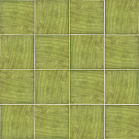 Mainzu Ceramica Calabria CALABRIA PISTACHO 15x15 , Living room, Kitchen, Patchwork style style, Handmade style style, Ceramic Tile, wall, Glossy surface, non-rectified edge