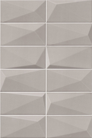 Mainzu Ceramica Diamond DIAMOND PEARL 10x20 , 3D effect effect, Unicolor, Patchwork style style, Ceramic Tile, wall, Glossy surface, Non-rectified edge