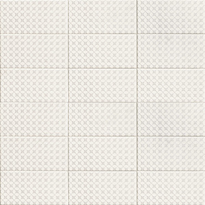 Mainzu Ceramica Fabric FABRIC CROSS 10x20 , Bathroom, Patchwork style style, Fabric effect effect, Ceramic Tile, wall, Matte surface, Non-rectified edge