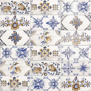 Mainzu Ceramica Mattonella FIORANO 10x20 , Kitchen, Patchwork style style, Ceramic Tile, wall, Matte surface, Glossy surface, Non-rectified edge