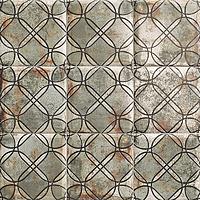 Mainzu Ceramica Tin Tile TIN-TILE SHEET 20x20 , Kitchen, Bathroom, Public spaces, Patchwork style style, aged effect effect, Metal effect effect, Ceramic Tile, wall, Glossy surface, Non-rectified edge