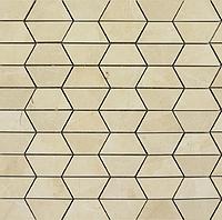 Marazzi Evolutionmarble MK0C_290X290Dec.Esa.CreamL , Living room, Bathroom, Bedroom, Stone effect effect, Unglazed porcelain stoneware, Ceramic Tile, wall & floor, Polished surface, Matte surface, Rectified edge, Non-rectified edge