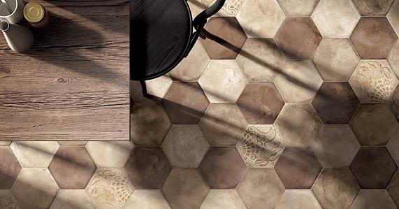 Piastrelle in gres porcellanato terra di marca corona tile expert