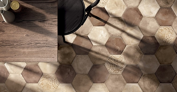 Piastrelle in gres porcellanato Terra di Marca Corona. Tile.Expert ...