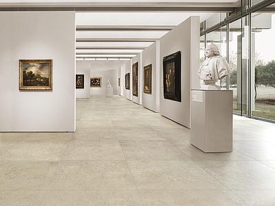 Margres Ceramic Style Slabstone SlabStone Beige Museu Intg , Öffentliche  Räume, Badezimmer