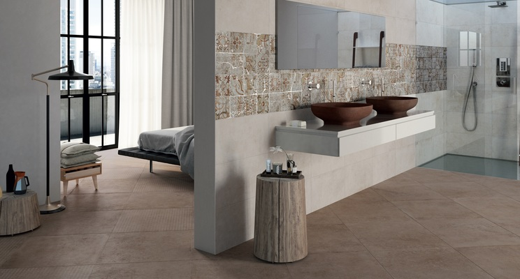 Piastrelle in gres porcellanato background di mo.da. tile.expert