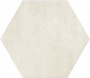 Mo.da Ceramica Over OVER ESAGONO AVORIO 21x18,2 , Chambre à coucher, style Style patchwork, Effet effet béton, Grès cérame non-émaillé, revêtement mur et sol, Surface mate, Bord rectifié