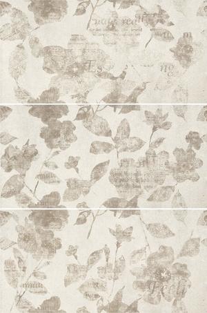 Mo.da Ceramica Over OVER INSERTO PENSIERI AVORIO 1/2/3 30x60 , Chambre à coucher, style Style patchwork, Effet effet béton, Grès cérame non-émaillé, revêtement mur et sol, Surface mate, Bord rectifié