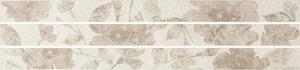 Mo.da Ceramica Over OVER LISTELLO PENSIERI 1/2/3 AVORIO 4,6x60 , Chambre à coucher, style Style patchwork, Effet effet béton, Grès cérame non-émaillé, revêtement mur et sol, Surface mate, Bord rectifié