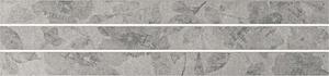 Mo.da Ceramica Over OVER LISTELLO PENSIERI 1/2/3 SILVER 4,6x60 , Chambre à coucher, style Style patchwork, Effet effet béton, Grès cérame non-émaillé, revêtement mur et sol, Surface mate, Bord rectifié