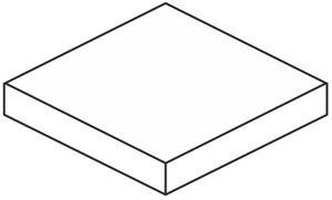 Mo.da Ceramica Over OVER SILVER ANGOLARE COSTA RETTA SX 33x30 , Chambre à coucher, style Style patchwork, Effet effet béton, Grès cérame non-émaillé, revêtement mur et sol, Surface mate, Bord rectifié