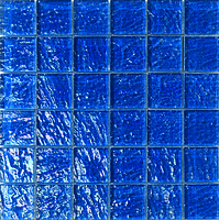 Mosaico piu Onde 0N.0252_48X48x8 , Bathroom, Living room, Kitchen, Avant-garde style style, Mother-of-pearl effect effect, wall, Glossy surface, non-rectified edge