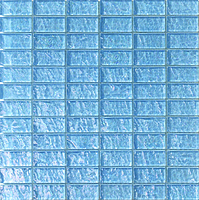 Mosaico piu Onde On.0243_23X48x8 , Bathroom, Living room, Kitchen, Avant-garde style style, Mother-of-pearl effect effect, wall, Glossy surface, non-rectified edge