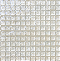 Mosaico piu Onde On.0861_23X23x8 , Bathroom, Living room, Kitchen, Avant-garde style style, Mother-of-pearl effect effect, wall, Glossy surface, non-rectified edge