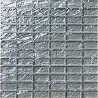 Mosaico piu Onde On.0879_23X48x8 , Bathroom, Living room, Kitchen, Avant-garde style style, Mother-of-pearl effect effect, wall, Glossy surface, non-rectified edge