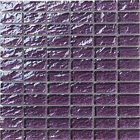 Mosaico piu Onde On.0880_23X48x8 , Bathroom, Living room, Kitchen, Avant-garde style style, Mother-of-pearl effect effect, wall, Glossy surface, non-rectified edge