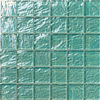 Mosaico piu Onde On.0885_48X48x8 , Bathroom, Living room, Kitchen, Avant-garde style style, Mother-of-pearl effect effect, wall, Glossy surface, non-rectified edge