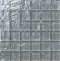 Mosaico piu Onde On.0887_48X48x8 , Bathroom, Living room, Kitchen, Avant-garde style style, Mother-of-pearl effect effect, wall, Glossy surface, non-rectified edge