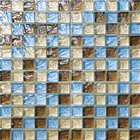 Mosaico piu Onde CR.0A55_23X23x8 , Bathroom, Living room, Kitchen, Avant-garde style style, Mother-of-pearl effect effect, wall, Glossy surface, non-rectified edge