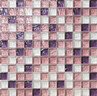 Mosaico piu Onde CR.0A56_23X23x8 , Bathroom, Living room, Kitchen, Avant-garde style style, Mother-of-pearl effect effect, wall, Glossy surface, non-rectified edge