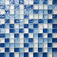 Mosaico piu Onde CR.0A57_23X23x8 , Bathroom, Living room, Kitchen, Avant-garde style style, Mother-of-pearl effect effect, wall, Glossy surface, non-rectified edge