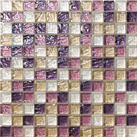 Mosaico piu Onde CR.0A64_23X23x8 , Bathroom, Living room, Kitchen, Avant-garde style style, Mother-of-pearl effect effect, wall, Glossy surface, non-rectified edge