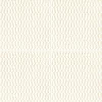 Mutina Ceramiche & Design Azulej PUA14_AzulejTramaBianco20X20 , Cuisine, Séjour, Espace public, Salle de bain, style Style patchwork, style Style designer, Patricia Urquiola, Effet imitation carreaux de ciment, Effet effet béton, Grès cérame émaillé, revêtement mur et sol, Surface mate, Bord rectifié, Variation de nuances V2