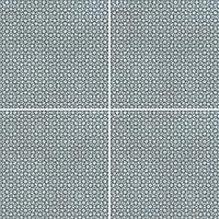 Mutina Ceramiche & Design Azulej PUA22_AzulejRendaGrigio20X20 , Cuisine, Séjour, Espace public, Salle de bain, style Style patchwork, style Style designer, Patricia Urquiola, Effet imitation carreaux de ciment, Effet effet béton, Grès cérame émaillé, revêtement mur et sol, Surface mate, Bord rectifié, Variation de nuances V2